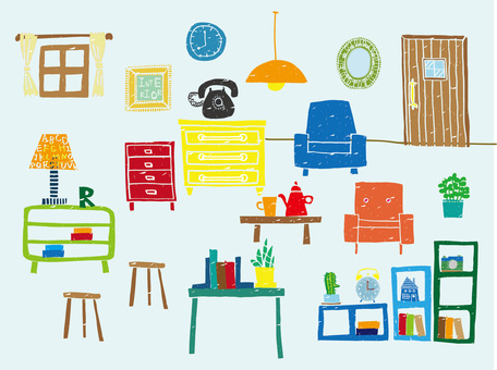 Furniture stamp style