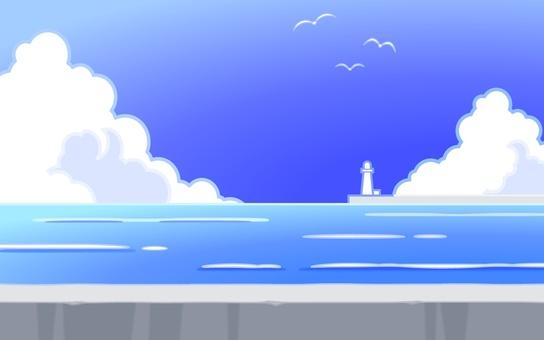 夏天海 -  001