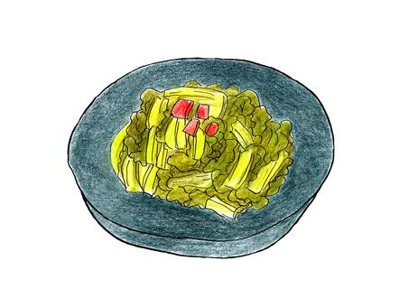 Takana pickles 01