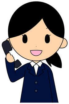 A phone caller