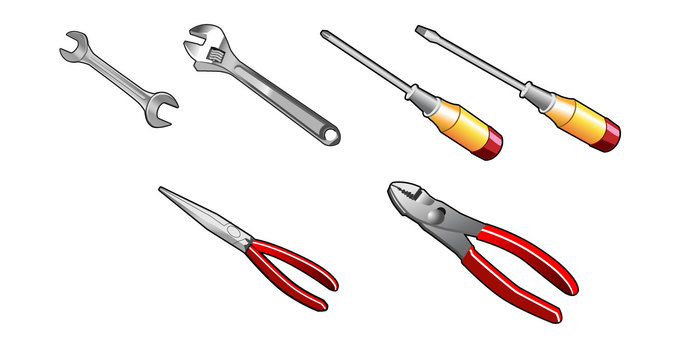 6 kinds of tools