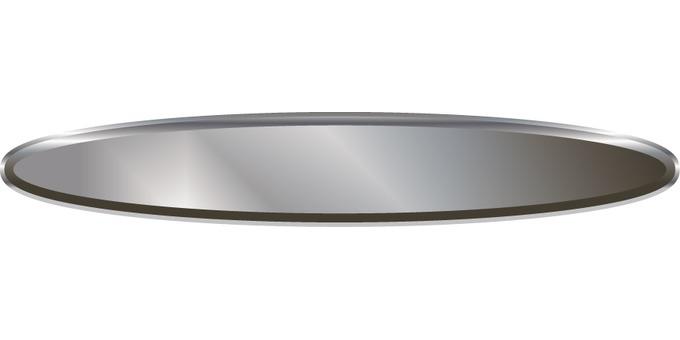 Metal tray (tray)