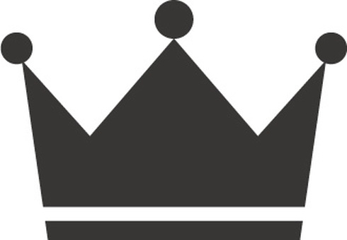 Crown icon material