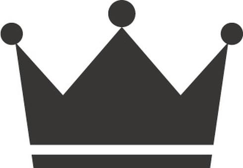 왕관 아이콘 소재