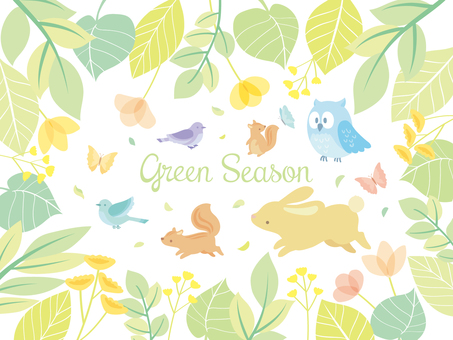 Spring illustration set (7)