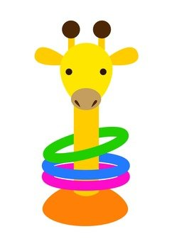 Giraffe ringtone (Yellow)