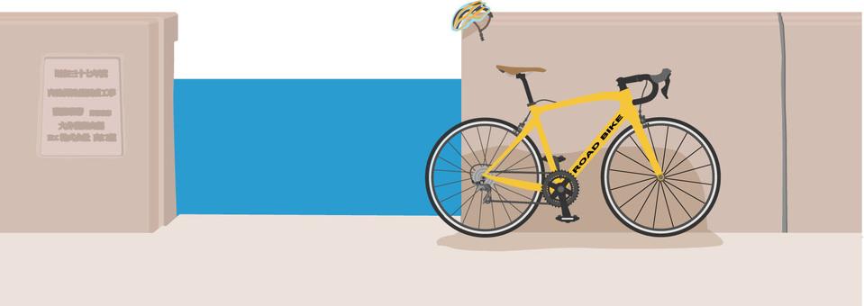Embankment and road bike 1