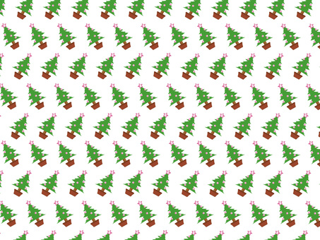 Christmas tree background _ pink
