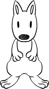 Dog (standing ear)