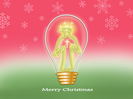 Light bulb angel B