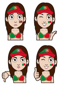 Portuguese representative supporter 3