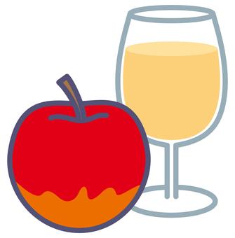 Apple and apple juice