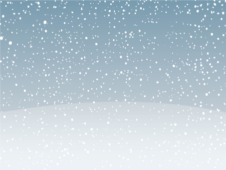 Snowfall background material