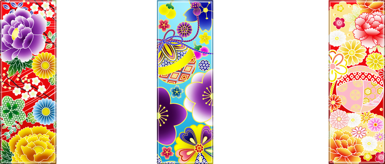 Decoration of Tanabata (strip)