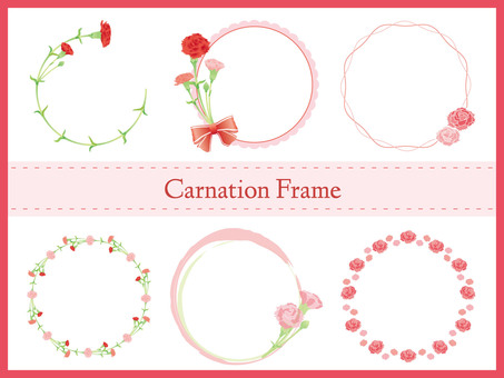Carnation frame set