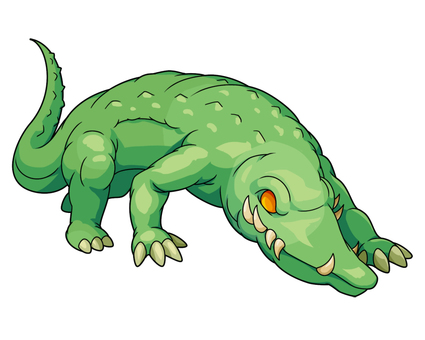 Crocodile monster
