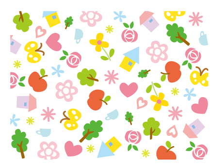 House Heart Flower