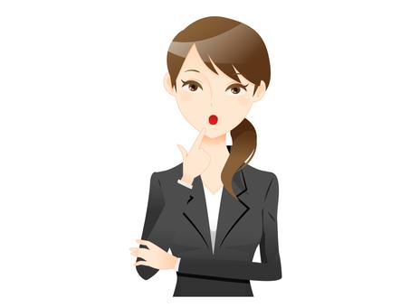 A suit woman 06