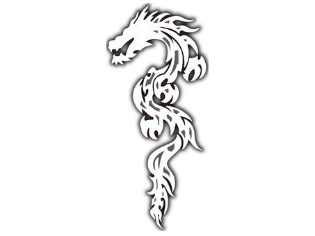 Tribal dragon - 019