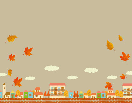 Autumn skyline