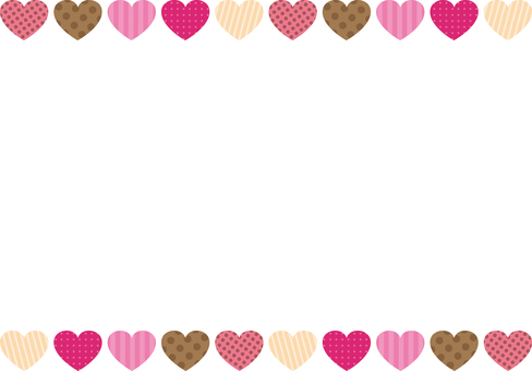 Valentine Heart upper and lower frames