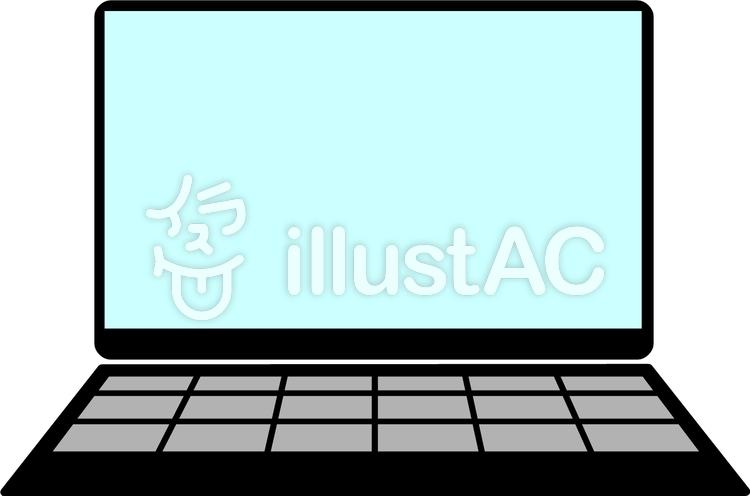 ノートPCのイラスト
