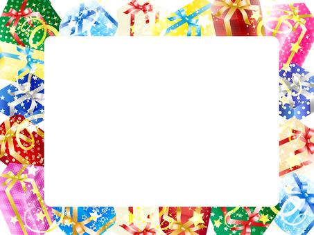 Gift box frame · background · wallpaper 3