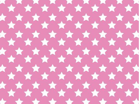 Star pattern (pink)