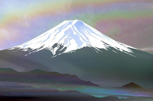 Fuji fantasy before dawn