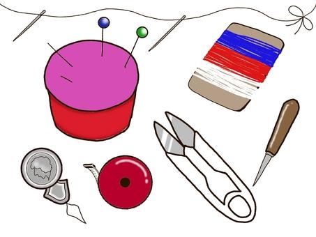 Sewing tool set