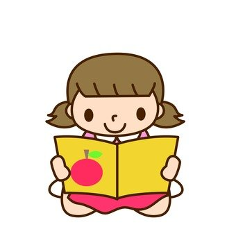 Girls · Reading books 2