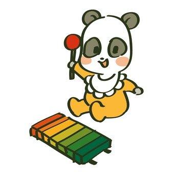 Panda's baby