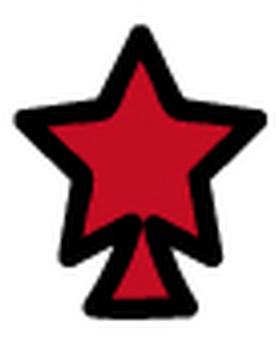 Overlapping tree (star 2)