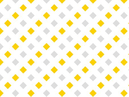 Square dot ◆ yellow × gray