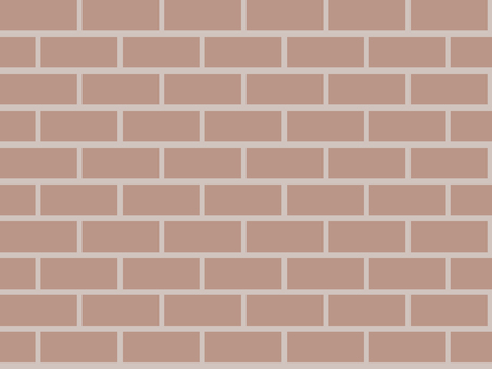 Brick wall (1 color)