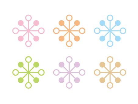 Pastel mark