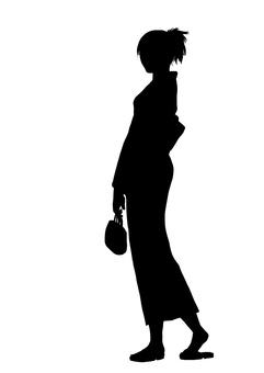 Yukata silhouette