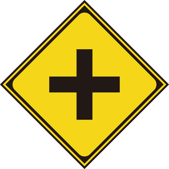 With road intersection