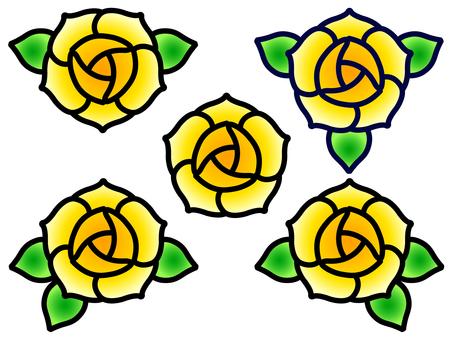 Rose icon (Yellow)