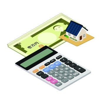 Calculator and paper money 2