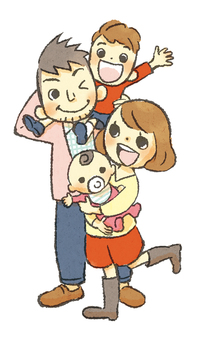 【Transparent PNG】 Family
