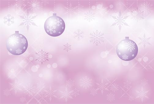 Snow frame Christmas 003
