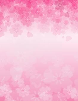 Sakura petals material