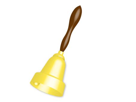 Gold handbell / Handbell