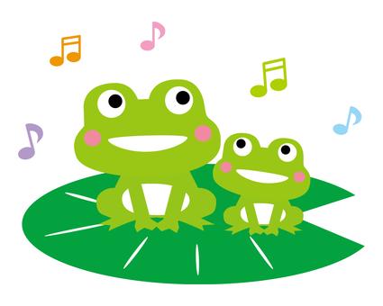 개구리의 부모와 자식