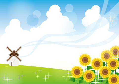 Sunflower _ Background 02