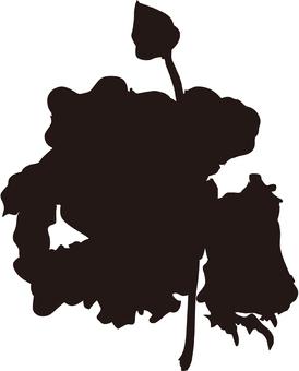 Ukiyo-e silhouette 341
