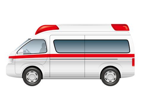 An ambulance illustration