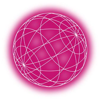 Ball (pink light)