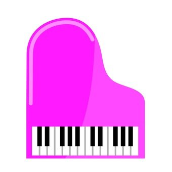 Piano (red)